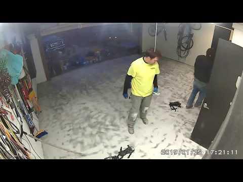 Garage floor gets epoxied