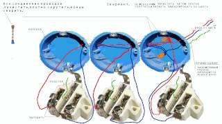 Проводим _ электропроводку в квартире(Если вы хотите провести в своей квартире электропроводку грамотно и безопасно, смотрите это видео., 2014-05-26T13:41:44.000Z)