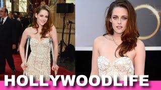 Oscars 2013: Kristen Stewart On Crutches Wins Best Dressed