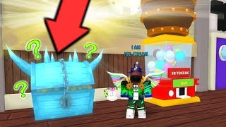 ⭐ WHAT IS IN THE MYSTERIOUS CRATE? * NEW * UPDATE ICE CRAEM SIMULATOR! | ROBLOX ⭐ CRATE?! *