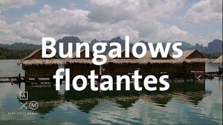Dormí en un Bungalow flotante!!! | Tailandia #22