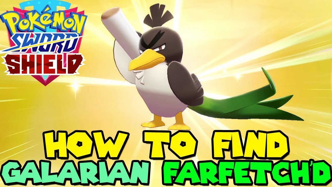 Download How to find GALARIAN FARFETCH'D in Pokemon Sword & Shield - Galarian Farfetch'd Location