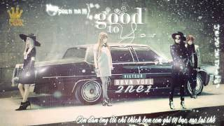 [Kara + Vietsub] Good to you - 2NE1