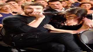 Sam Hunt Totally Embarrasses His Fiancee Hannah Lee Fowler at 2017 ACMs