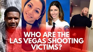 Who are the victims of the Las Vegas shooting?