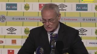 FC Nantes - AS Monaco : la réaction des entraîneurs