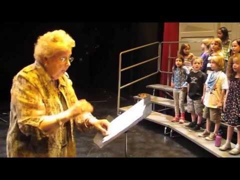 Elaine Gates | GRAMMY Music Educator Award |Teaching NYU Children's Chorus|6.5.2013