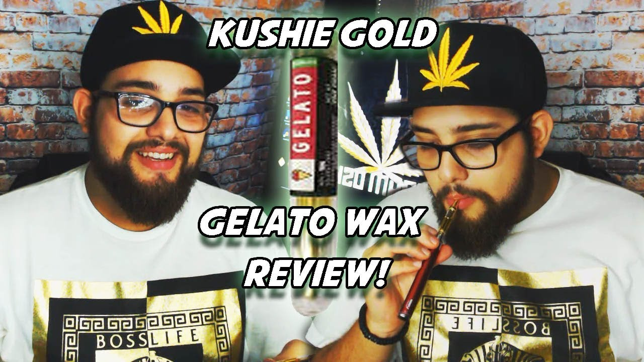 Kushie Gold Gelato Wax Cartridge Review! 420 Review!