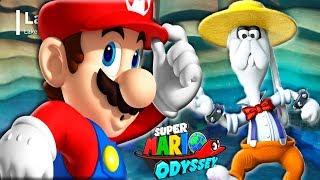 СУПЕР МАРИО ОДИССЕЙ #8 БОСС Прохождение игры на СПТВ Super Mario Odyssey BOSS BROODAL Lake Kingdom