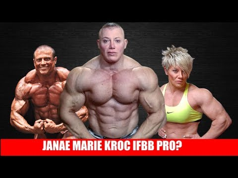 Janae Marie Kroc Will Compete In Men's Bodybuilding