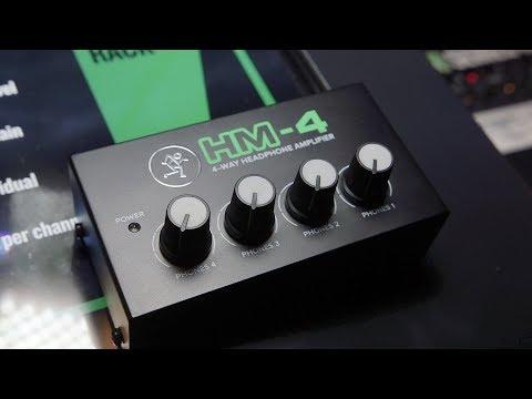 Mackie HM-800, HM-400 & HM-4 - NAMM 2018