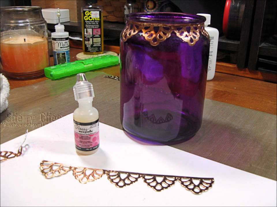 Spellbinders Moroccan Accent and Motifs Lantern - YouTube