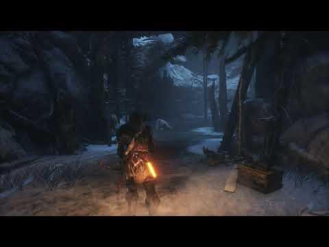 Rise Of The Tomb Raider  как  убить медведя на раз,два,три