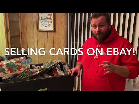 Sell Sports Cards On Ebay For PROFIT!