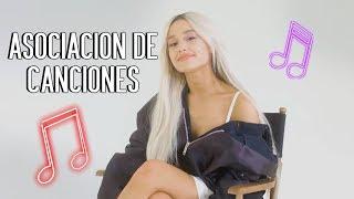 Ariana Grande juega a 'Asociación de Canciones' para la revista ELLE (subtitulado)