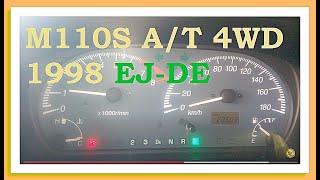 Контрактный двигатель Япония Daihatsu Storia Дайхатсу Стория M110s 001581 A/T 4WD 1998...