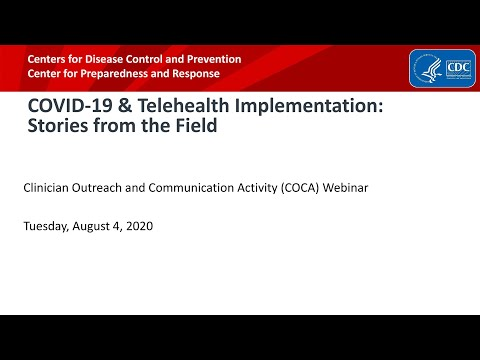 COVID-19 & Telehealth Implementation: Stories From The Field