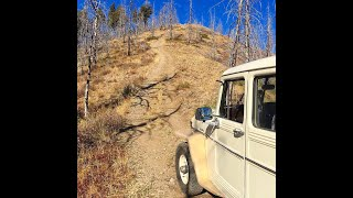 Gambar cover Willys Wagon climbing Warm Springs 2019