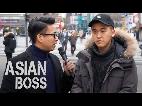 Do Koreans Think America Is No. 1 (America vs China) | ASIAN BOSS