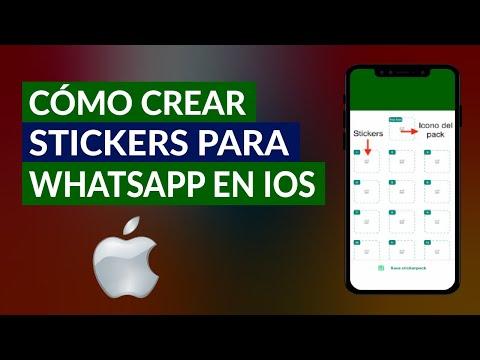 Cómo Crear y Diseñar mis Propios Stickers para WhatsApp en iOS