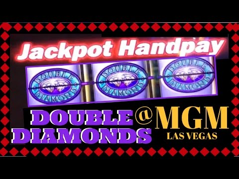 #HANDPAY On DOUBLE DIAMOND ✦LIVE PLAY✦ Slot Machines At MGM, Las Vegas