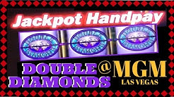 #HANDPAY on DOUBLE DIAMOND ✦LIVE PLAY✦ Slot Machines at MGM, Las Vegas