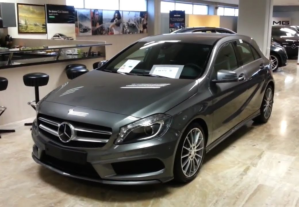 mercedes benz a class 2014 amg in depth review interior. Black Bedroom Furniture Sets. Home Design Ideas