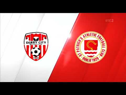 HIGHLIGHTS: Derry City 1-1 St. Patrick's Athletic
