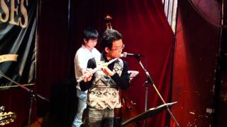 """Super Mario Bros. Theme"" performed by Hot Club de YAGENBORI"