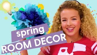 Spring Room Decor: DIY Paper Flowers, DIY Ant Farm, DIY String Lights | GoldieBlox