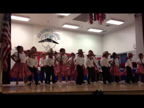 Jack Northrop Holiday Program - Folklorico Group (1/2)