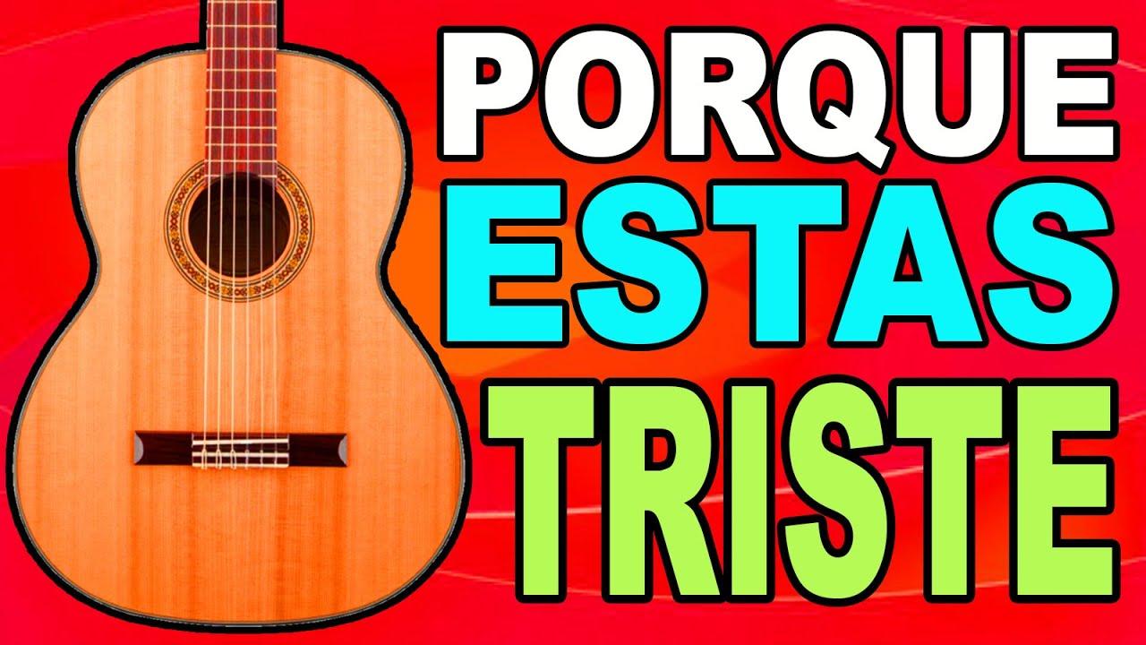 TUTORIAL EN GUITARRA 🎸 QUIERO SABER PORQUE ESTAS TRISTE 🎸 Mi Guitarra Cristiana