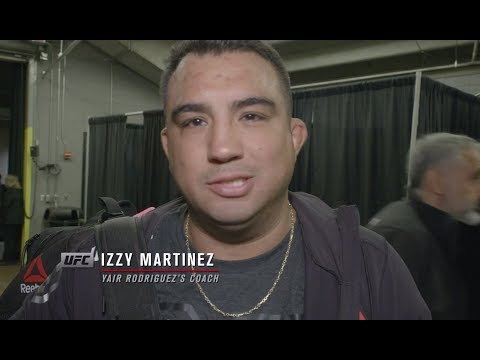 "Fight Night Denver: Yair Rodriguez's Coach Izzy Martinez - ""He Wants to Be a Champion"""