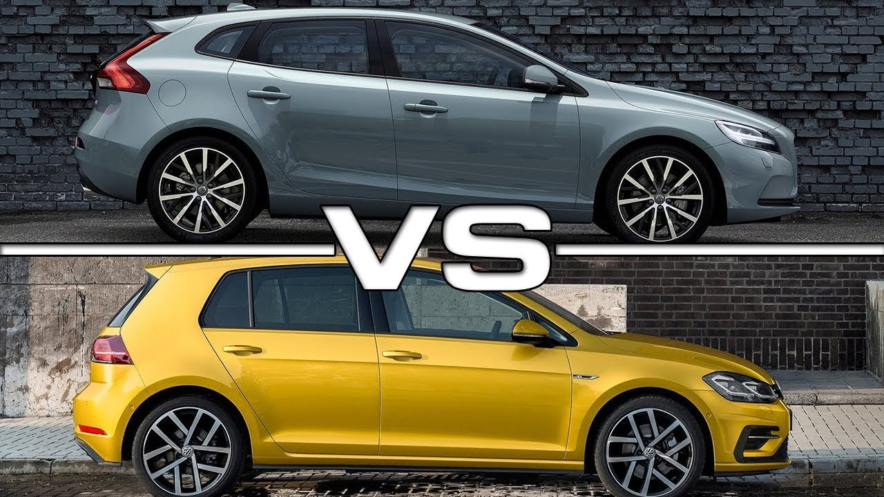 Volvo V40 Cross Country 2018 >> 2017 Volvo V40 vs 2018 Volkswagen Golf - YouTube