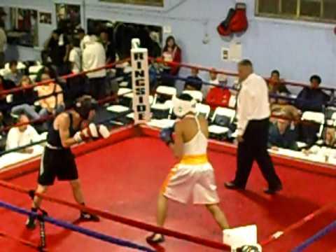 Jose Chavez first fight. Round #1
