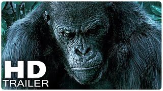 LEGEND OF TARZAN Trailer 1 + 2 German Deutsch | Filme 2016