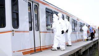Ankara'da Virüse Karşı 'buharlı' Dezenfeksiyon