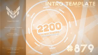 2D Panzoid Light Orange Intro Template
