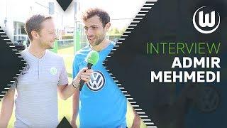 Last-Minute Tor gegen Hertha | Interview mit Admir Mehmedi | VfL Wolfsburg