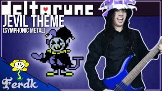 Deltarune THE WORLD REVOLVING Jevil Theme Symphonic Metal Guitar Cover by Ferdk.mp3