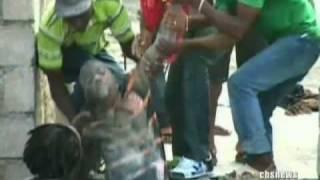 Haitian School Collapses