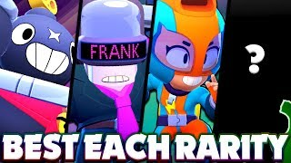 The BEST Brawlers In EACH RARITY! - New Meta Brawler Rankings! - Things Are Changing! - Brawl Stars