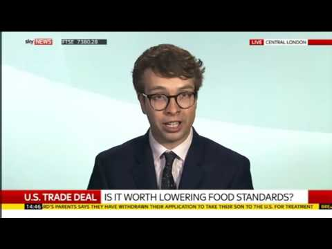 Brexit fallout: US free trade deal means prepare to eat chlorinated chicken