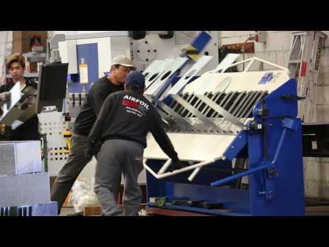 Airfoil Manufacturing. Sheet metal fabrication for the air d
