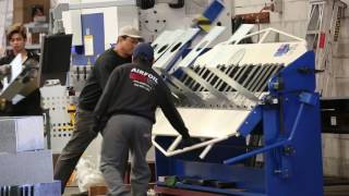 Airfoil Manufacturing. Sheet metal fabrication for the air diffusion industry