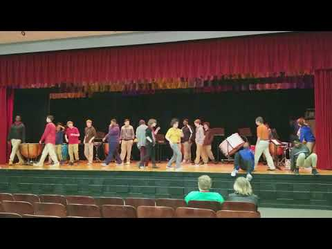 Bryson Middle School percussion concert