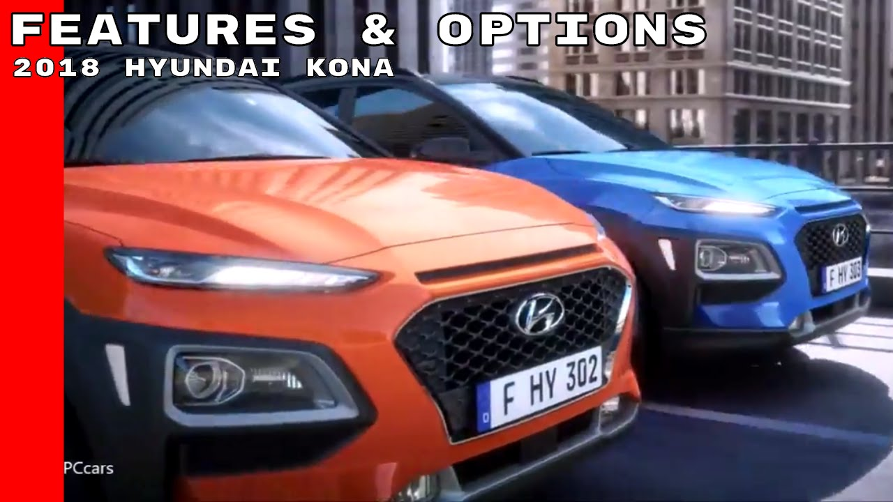 2018 hyundai kona colors. beautiful kona 2018 hyundai kona features u0026 options and hyundai kona colors