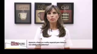 Como preparar molhos para salada? - TV Mais Ribeirão - Cristina Trovó