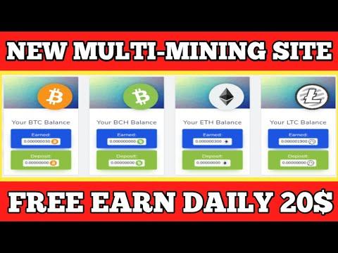 20$ Live Withdrawal New Biggest Bitcoin Mining website  New BTC Mining site
