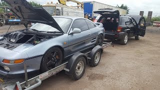TOYOTA MR2 INTERIOR REMOVAL WITH GUIDES
